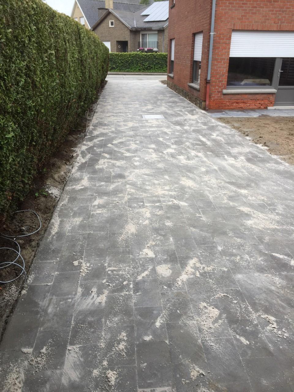 betonklinker oprit