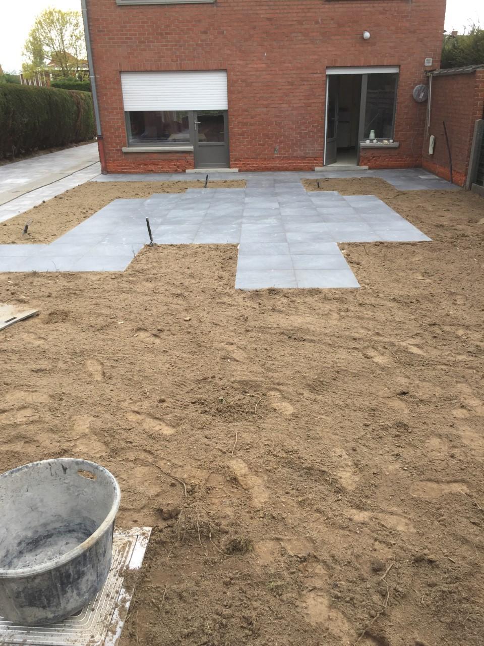 terras 60 x60 keramiek tegels